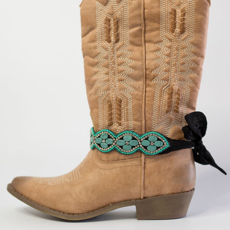 Louisville Lace Boot Accessory (Grey)