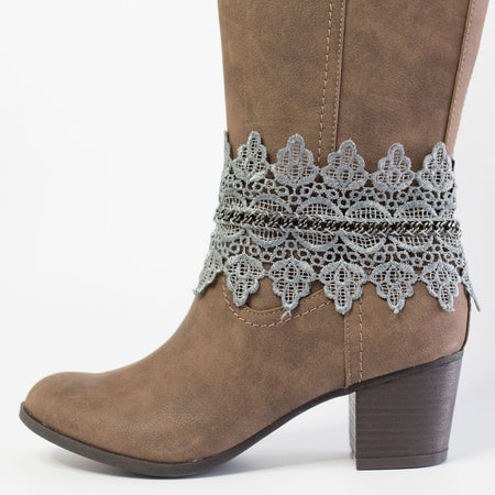 The Sedona Boot Wraps (Turquoise)