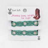 Little Dallas Boot Wraps (Turquoise)