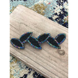 Olivia Hand Beaded Barrette