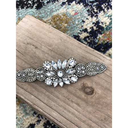 Jayme Hand Beaded Barrette