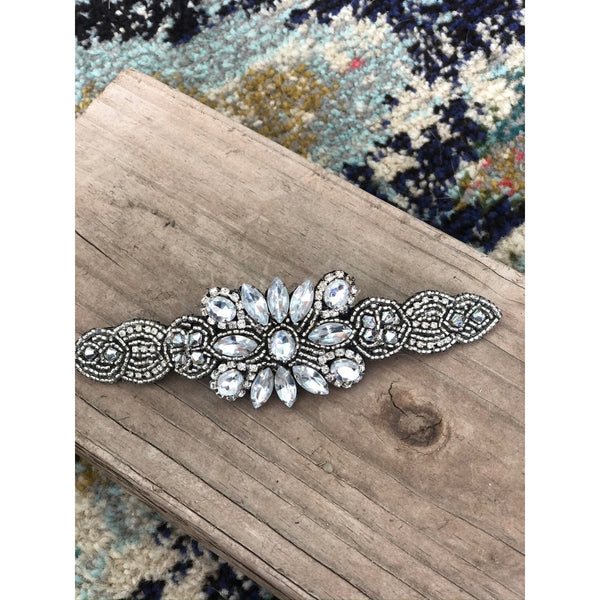 Jenny Hand Beaded Barrette