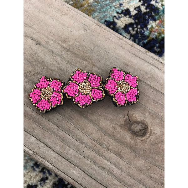 Alice Hand Beaded Barrette