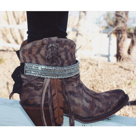 The Dallas Boot Wrap (Charcoal)
