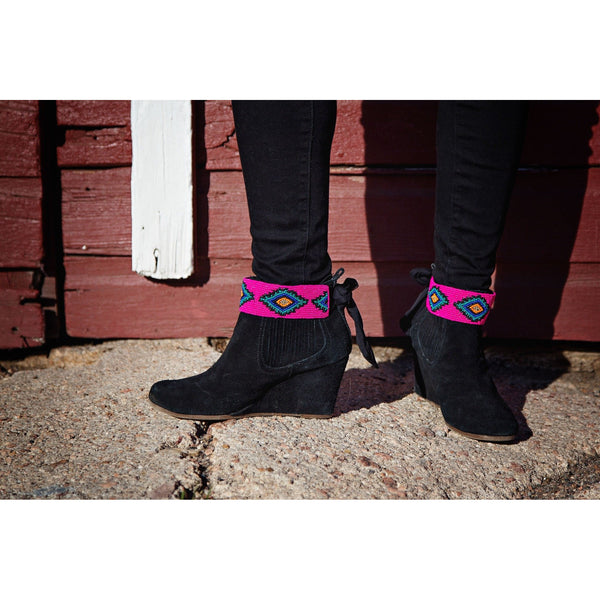 The Sedona Boot Wraps (Pink)