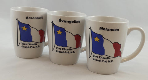 Mug: Acadian Family Names 1st List Custom Locally Made