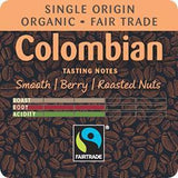 Coffee: Colombian Ground Organic Fair Trade