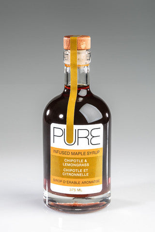 Maple Syrup: Chipotle & Lemongrass Pure Infused