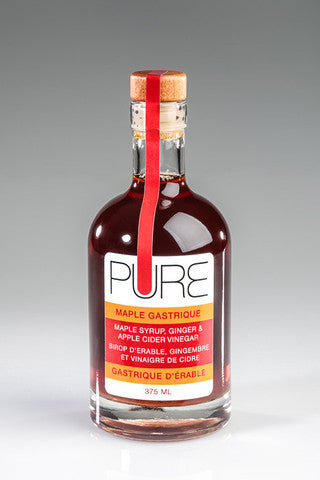 Maple Syrup: Maple Gastrique Pure Infused