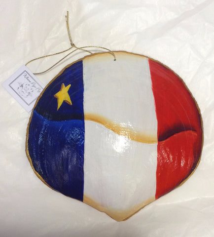 Ornament: Acadian Scallop Shell