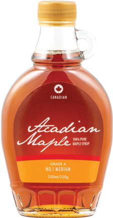 Maple Syrup: 250ml Grade A Amber Bottle