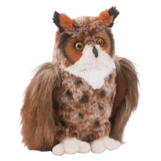Cuddle Toy: Einstein Great Horned Owl