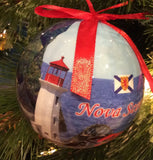 Ornament: Ball Nova Scotia Scene Lightweight