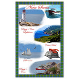 Tea Towel: Nova Scotia images