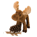 Cuddle Toy: Grand-Pré Lumber Jack Standing Moose