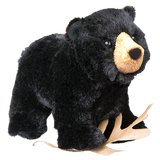 Cuddle Toy: Morley Standing Black Bear