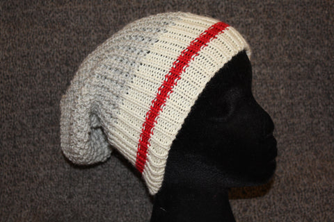 Wool Knitted Hat: PCSWS Worksock design
