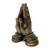 Praying Hands: Bronze