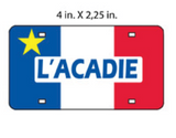 Magnet: L'Acadie License Plate