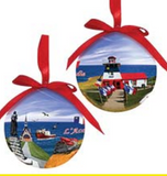 Ornament: Ball Acadie Scene Lightweight