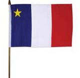 Flags: Acadian 6x9