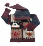 Sweater: Toddler Hooded in Assorted Colours