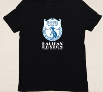 T-Shirt: Unisex Dominion Atlantic Railway Design