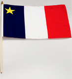 Flags: Acadian Assortment Sizes