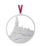Ornament: Grand Pre Church Commemorative 2004 Hand Crafted Pewter