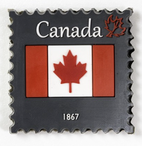 Magnet: Canada Stamp