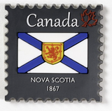 Magnet: Nova Scotia Stamp
