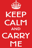 T-Shirt: Infant Keep Calm Carry Me with Acadian Star