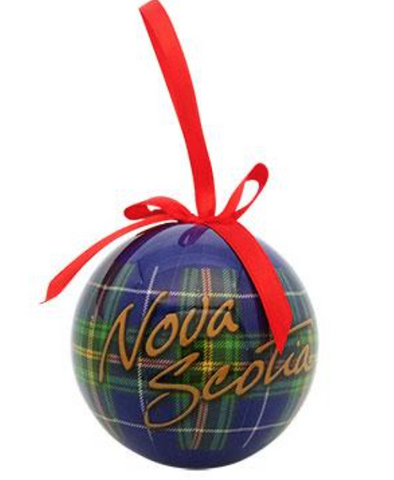 Ornament: Ball R2NS5096 Nova Scotia Tartan