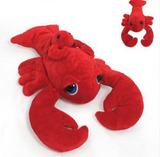 "Cuddle Toy: 15"" Lobster with Pal and Big Eyes (Nova Scotia Lettering)"