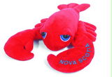 "Cuddle Toy: 12"" Lobster with Big Eyes (Nova Scotia Lettering)"