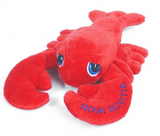 "Cuddle Toy: 9"" Lobster and Big Eyes (Nova Scotia Lettering)"
