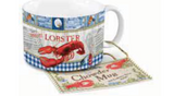 Chowder Mug: Harbourside Scene