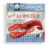 Napkins: Lobster Harbourside Dinner