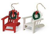 Ornament: Adirondack Chair Assorted Colours