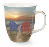 Mug: Adirondack Beach Chairs