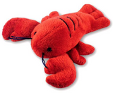Magnet: Lobster Plush w Nova Scotia lettering