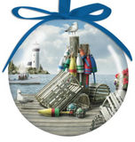 Ornament: Ball Dockside