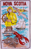 Tea Towel: Nova Scotia Nautical