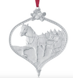 Ornament: Jingle Bells Hand Crafted Pewter