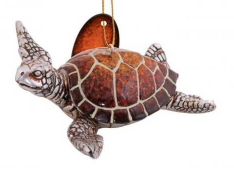 Ornament: Sea Turtle Resin