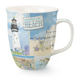 Mug: Coastal Collage