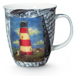 Mug: Crackle Lighthouse