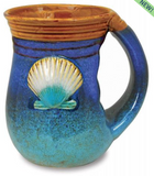 Mug: Handwarmer Beach House Shell