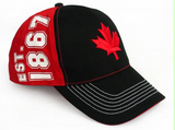 Hat: Canada Leaf Established Black