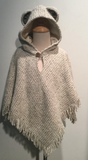 Poncho: Children's Osito with Hood